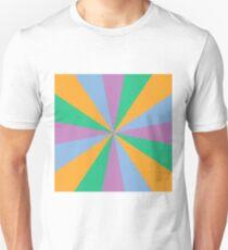 16 color circle spectrum T-Shirt