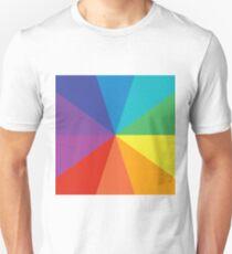10 color circle spectrum Unisex T-Shirt