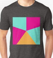 5 color circle spectrum T-Shirt