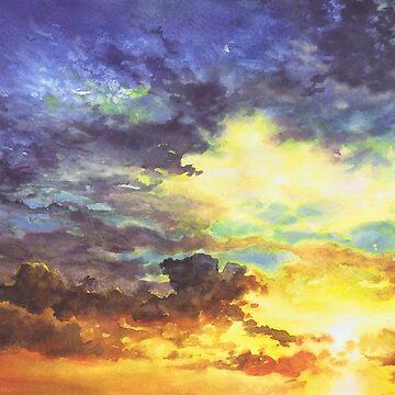 Sky No 4 by kkmiecikart