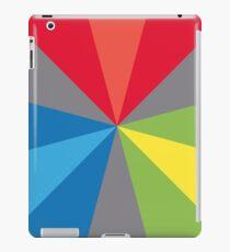 12 color circle spectrum iPad Case/Skin
