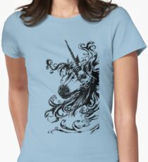 the untamed   Womens Fitted T-Shirt