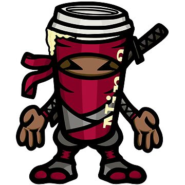 Coffee ninja or ninja coffee? - red by hoofster