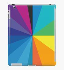 color circle spectrum half iPad Case/Skin