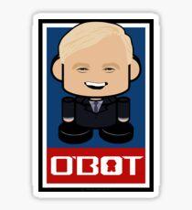 Hardball Politico'bot Toy Robot 2.0 Sticker