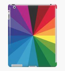 18 color circle spectrum iPad Case/Skin
