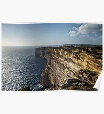 Sannap Cliffs Poster