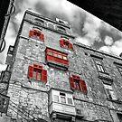 Four Windows and a Balcony  by Xandru