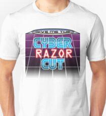 Cyber razor cut Unisex T-Shirt