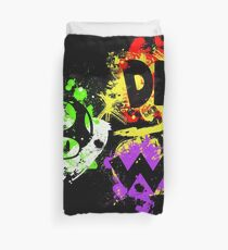 Smash Bros. The Mario Gang Duvet Cover