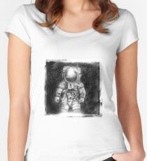 Moonbase Snapshot 2 Women's Fitted Scoop T-Shirt