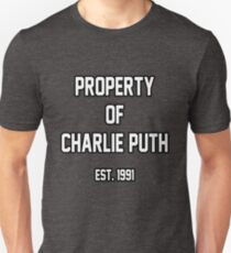 Property of Charlie Puth Unisex T-Shirt