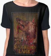 American Werewolf - Slaughtered Lamb Chiffon Top