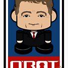 Randal Politico'bot Toy Robot 2.0 by Carbon-Fibre Media