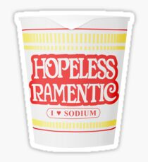 Hopeless Ramen-tic Sticker