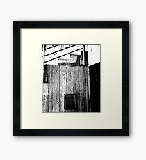 Down & Out Framed Print