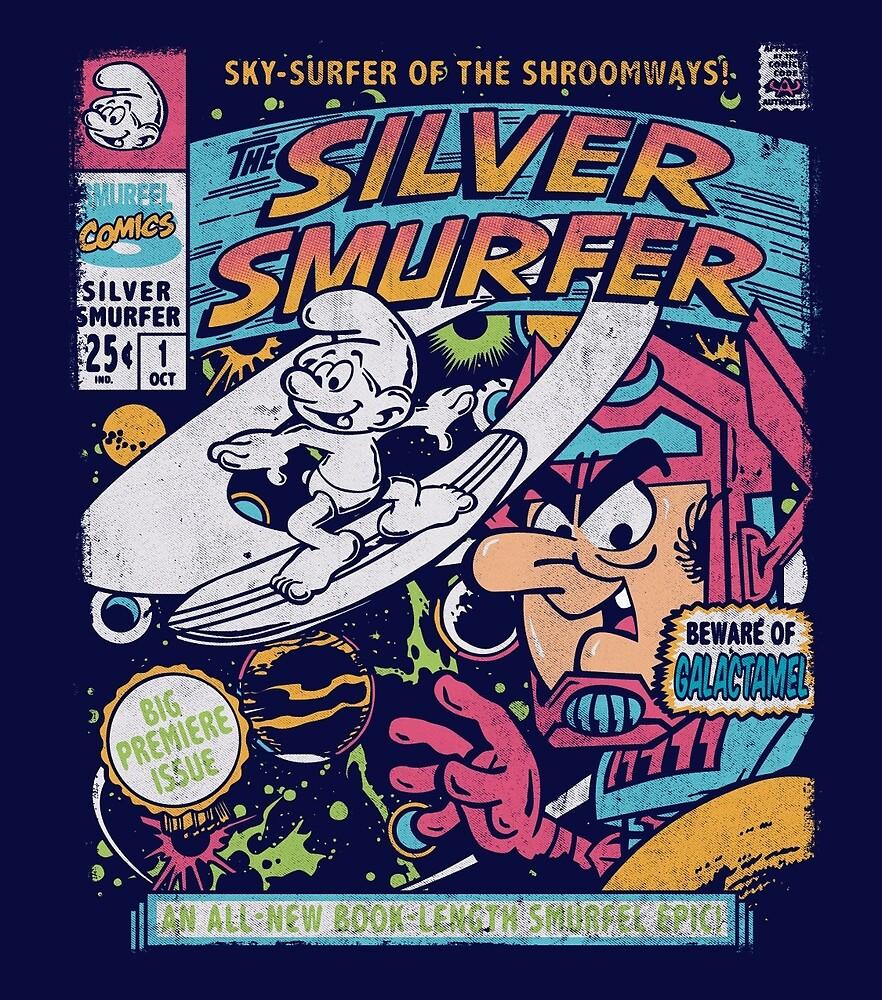 Silver Smurfer by CoDdesigns