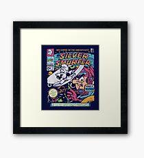 Silver Smurfer Framed Print