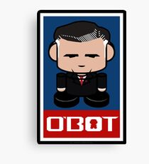 Romneybot Politico'bot Toy Robot 1.1 Canvas Print