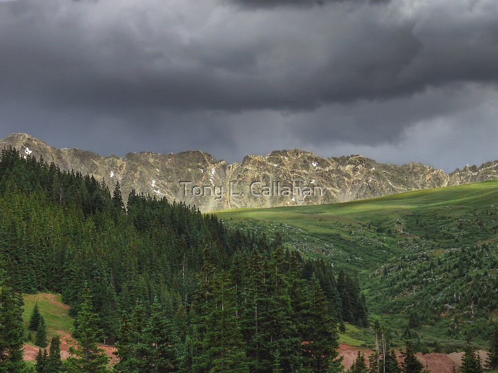 Afternoon Thunderstorm -- Continental Divide, Colorado by Tony L. Callahan