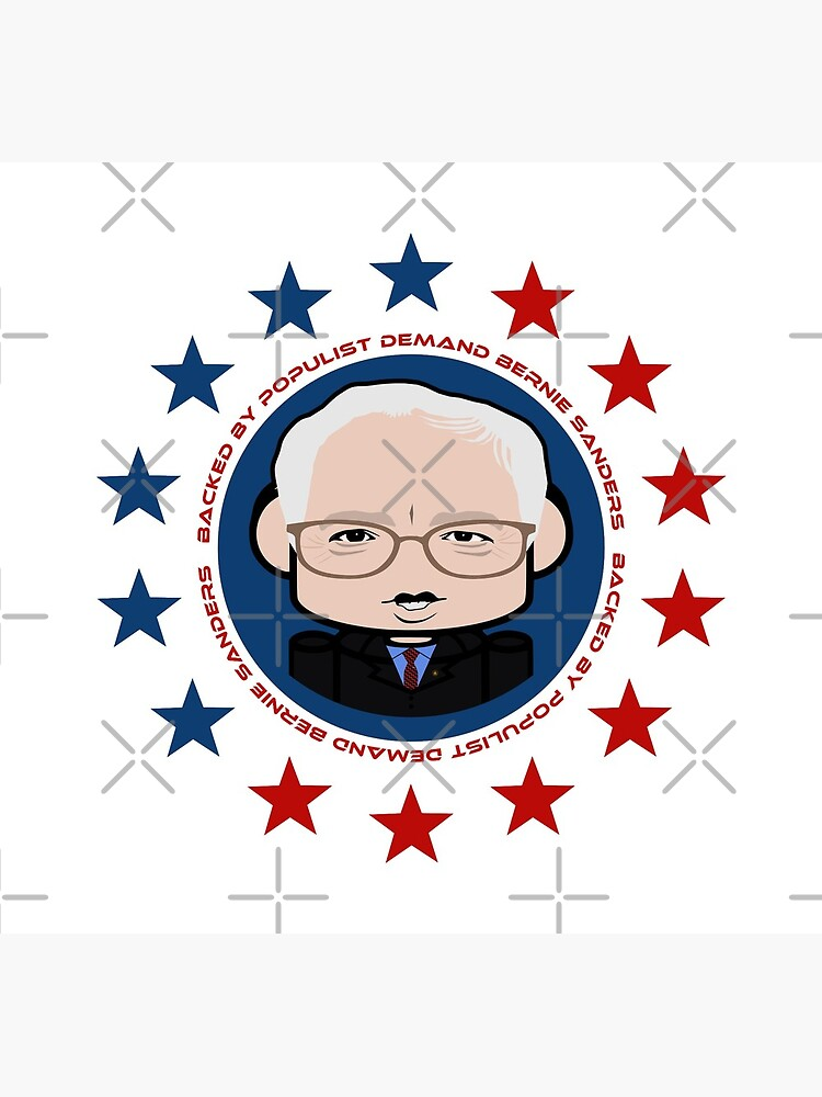 Backed by Populist Demand: Bernie'bot by carbonfibreme