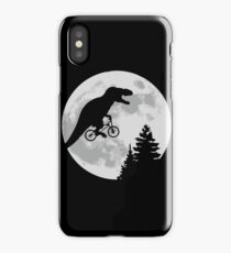 ET feat Jurassic Park - Moon Scene iPhone Case/Skin