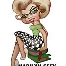 MMGeek - use on white background only by MarilynGeek