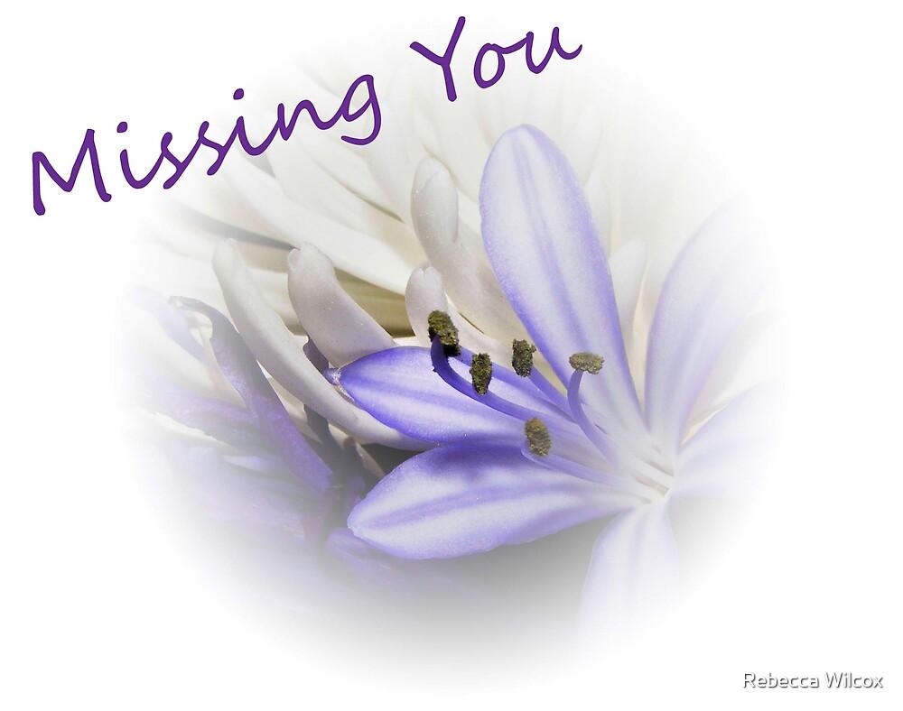 Missing You by Rebecca Brann