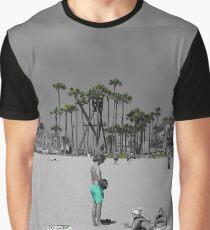 Green Beaches Graphic T-Shirt