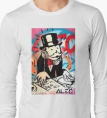 DJ Rich Uncle Pennybags 2 Long Sleeve T-Shirt