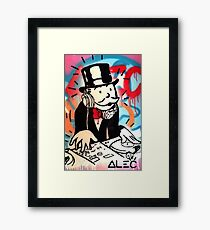 DJ Rich Uncle Pennybags 2 Framed Print