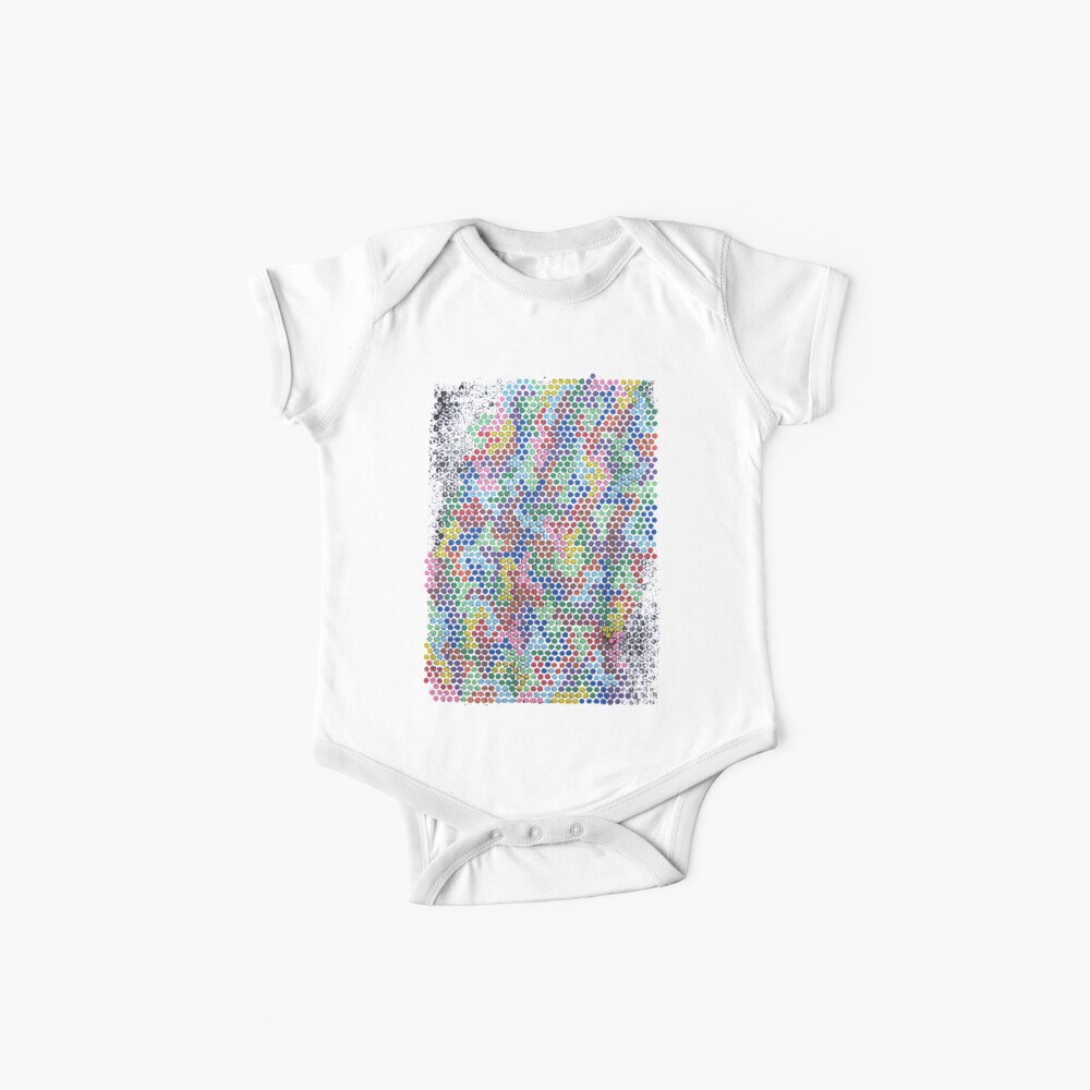 in rainbows Baby One-Piece