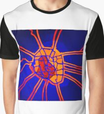 Cartography of the heart Graphic T-Shirt