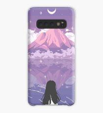 PIXEL 富士山 Case/Skin for Samsung Galaxy