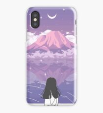 PIXEL 富士山 iPhone Case/Skin
