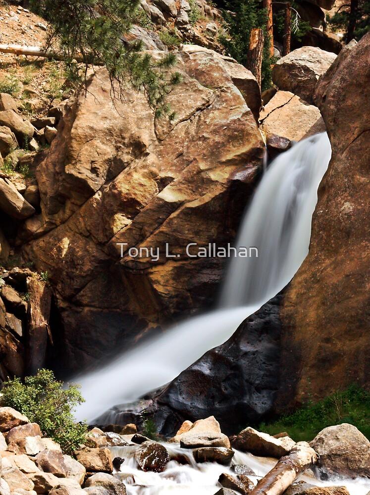 Boulder Falls #4 by Tony L. Callahan