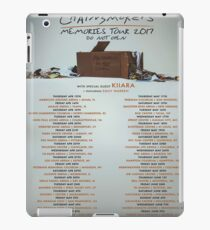 NEKAT CHAINSMOKER TOUR MEMORIES DATES 2017 iPad Case/Skin