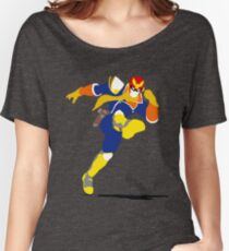 Captain Falcon Blocky Women's Relaxed Fit T-Shirt