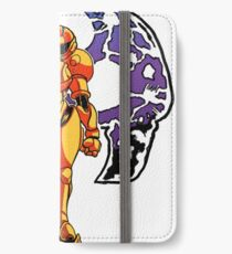 Samus the Fearless - Metroid iPhone Wallet/Case/Skin