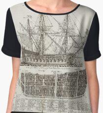 Age of sails Chiffon Top