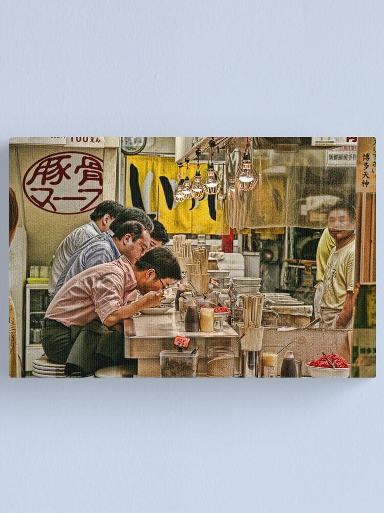 Alternate view of Tokyo Diner Canvas Print