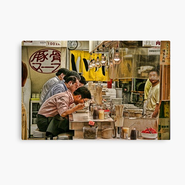 Tokyo Diner Canvas Print