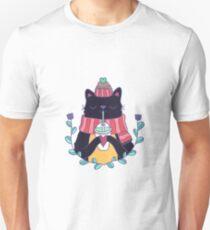 Winter cat Unisex T-Shirt