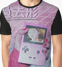 Vaporwave - Handheld Graphic T-Shirt