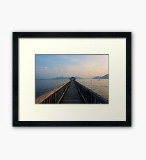 Tranquil Sea Framed Print
