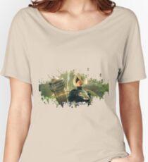 Nier: Automata Splatter Women's Relaxed Fit T-Shirt