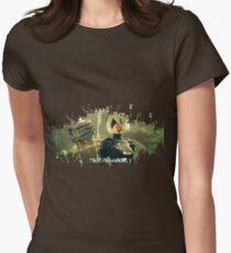 Nier: Automata Splatter Womens Fitted T-Shirt