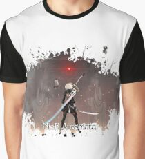 Nier: Automata Splatter Graphic T-Shirt