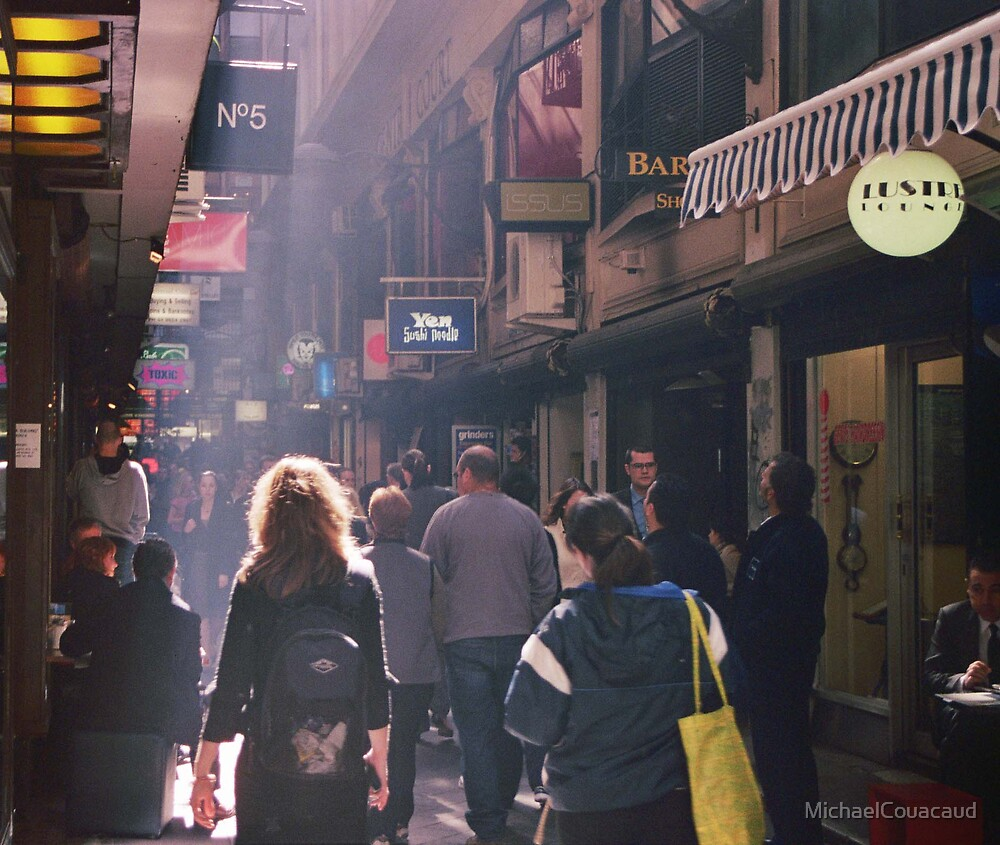 Light in the Lane by MichaelCouacaud