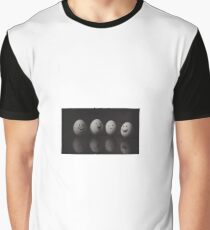 Egg Characters Graphic T-Shirt